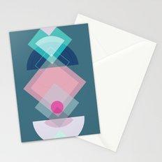 Geometric Play 1 Stationery Cards