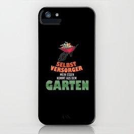 Garden Gardener Wheelbarrow Gardening iPhone Case