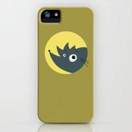 Cute Cartoon Hedgehog iPhone Case