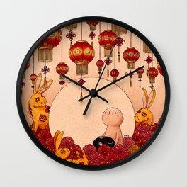 Mid Autumn Festival Wall Clock
