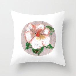Flor X (Flower X) Throw Pillow