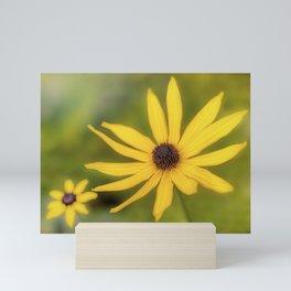 Golden Becki Mini Art Print