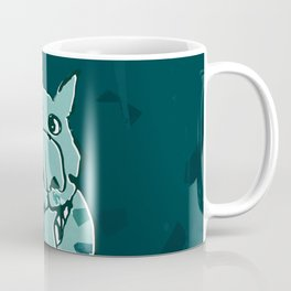 Citydog, teal Coffee Mug