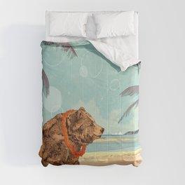 Beach Bear Comforters