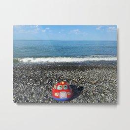 Postcard from the sea Metal Print