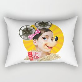 Pop Corn Rectangular Pillow