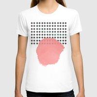 polka dot T-shirts featuring polka dot by Ceren Aksu Dikenci