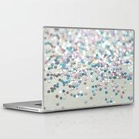 glitter Laptop & iPad Skins featuring GliTTER by Monika Strigel®