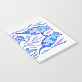 Five Otters – Indigo Ombré Notebook