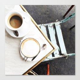 Café in Paris Canvas Print