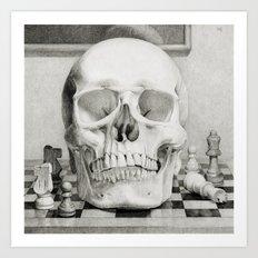 The King is Dead Art Print
