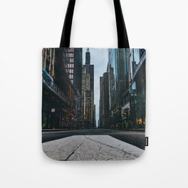 Chic City View (Color) Tote Bag