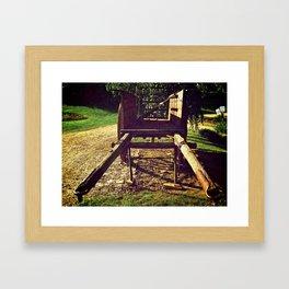 Country Wheels Framed Art Print