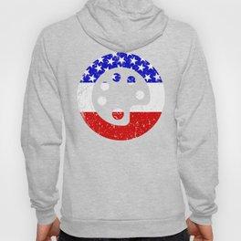American Flag Artist Art Teacher Hoody