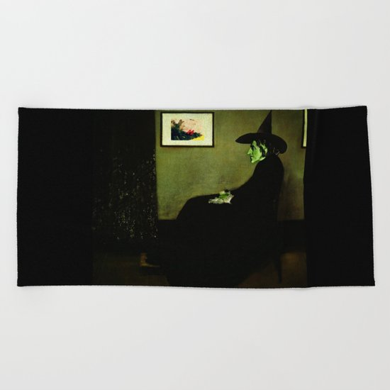 Wizzler's Mother  |  Wicked Witch Beach Towel