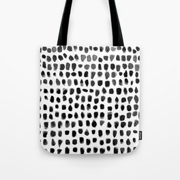 Watercolor Dots Tote Bag