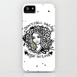 #STUKGIRL STACY*DOREEN iPhone Case