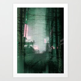 ForestStreetIII/ Art Print