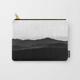 Black hills, pale sky Carry-All Pouch