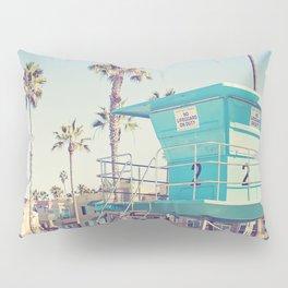Retro Beach Pillow Sham