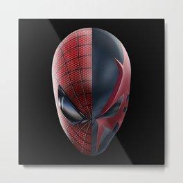 The amazing Spider-man Vs Spider-man 2099 Metal Print