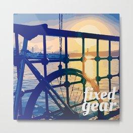 fixed gear istanbul Metal Print