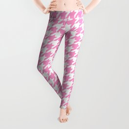 Rose Quartz Houndstooth Leggings