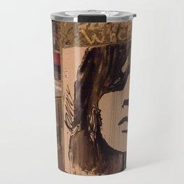 Graffiti Girl Paris Travel Mug