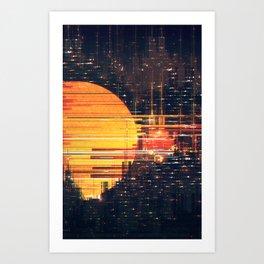 Dense City Art Print