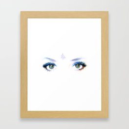 if only you could see me Framed Art Print