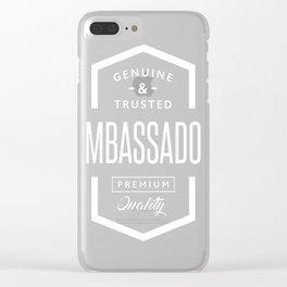 Ambassador Clear iPhone Case