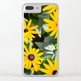 A Sunny Disposition Clear iPhone Case