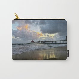 HB Sunsets  5/7/15   Huntington Beach, CA Carry-All Pouch