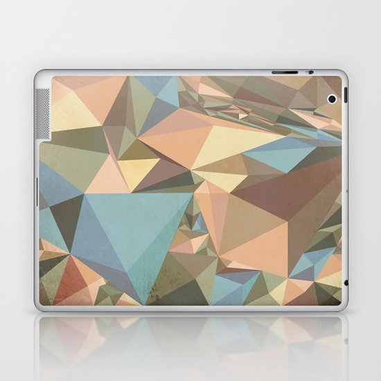 Renaissance Triangle Pyramids Laptop & iPad Skin