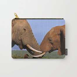 Friendship - Africa wildlife Carry-All Pouch