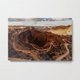 100 Mile Road, Canyonlands National Park Metal Print