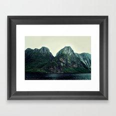 Roots of the Mountains Framed Art Print