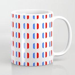 Flag of France - with soft square Coffee Mug