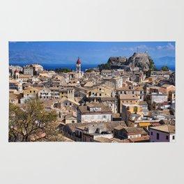 Corfu Town, Greece Rug