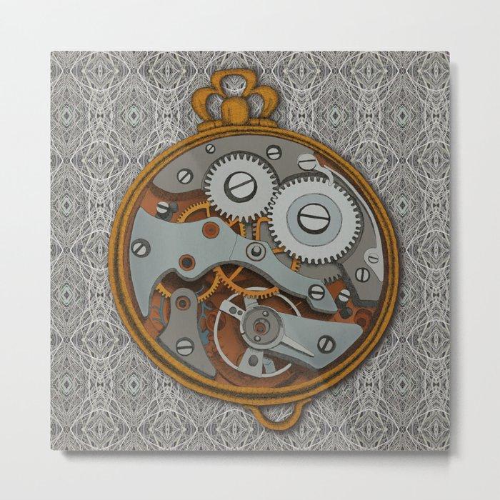 Pieces of Time Metal Print