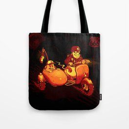 Route To Hell Tote Bag