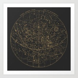 Visible Heavens - Dark Art Print