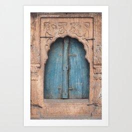 Doors Of India 2 Art Print