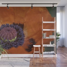 Red Poppy Wall Mural