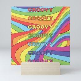 Extra Groovy Mini Art Print