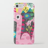 dino iPhone & iPod Cases featuring Dino by Marijke Buurlage