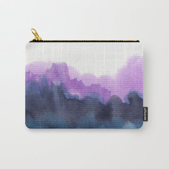 Watercolor abstract landscape 13 Carry-All Pouch