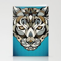 leopard Stationery Cards featuring Leopard by Andreas Preis