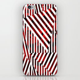 Striped Red Tiger iPhone Skin