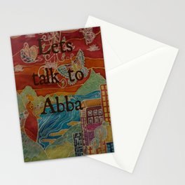 Lets talk to Abba Stationery Cards